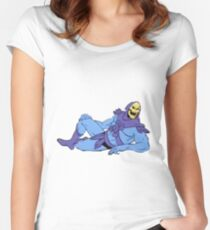 SENSUAL SKELETOR Women's Fitted Scoop T-Shirt
