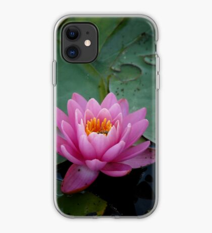 Pink Waterlily - iPhone Case iPhone Case