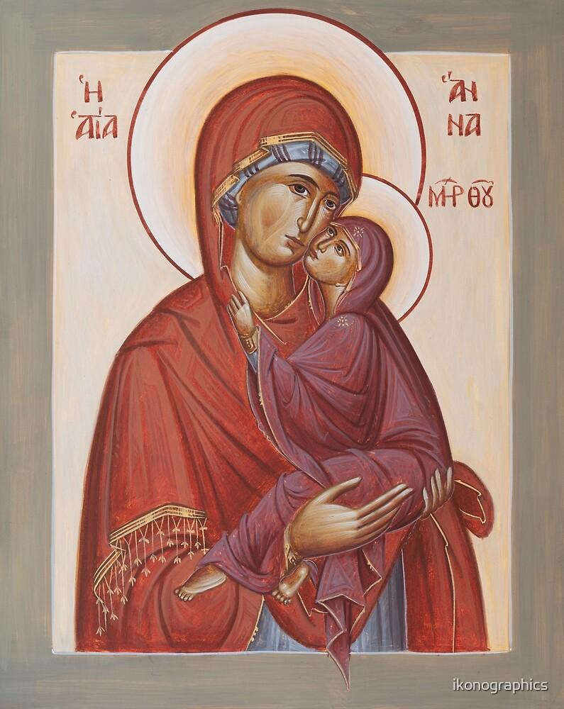 St. Anna von ikonographics