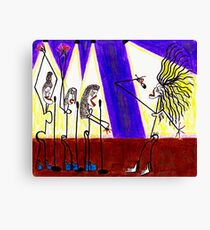 Batty Stayelle and the Ringlets  Canvas Print