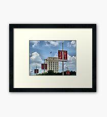 Skyline District Framed Print