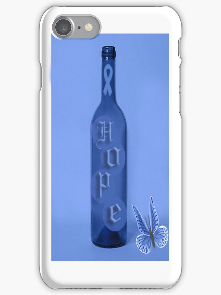 ⓛ ⓞ ⓥ ⓔ There Is Hope Colon Cancer Awareness iPhone Caseⓛ ⓞ ⓥ ⓔ  by ✿✿ Bonita ✿✿ ђєℓℓσ