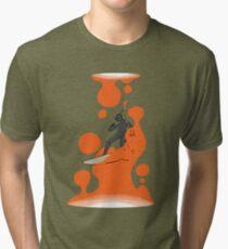 Lava lamp surfer Tri-blend T-Shirt