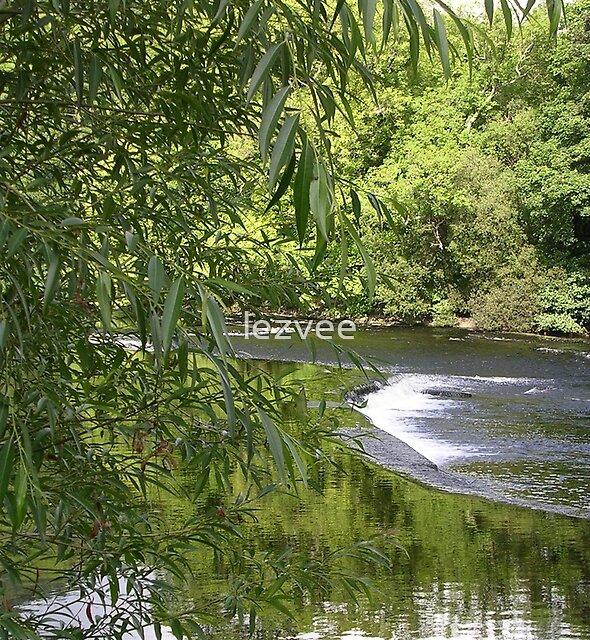 River Dee at Llangollen by lezvee