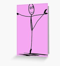 Dancing Through Life Greeting Card