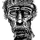 Slack-Jaw Zombie by Montia Garcia