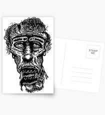 Slack-Jaw Zombie Postcards