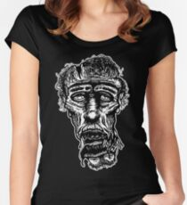 Slack-Jaw Zombie Fitted Scoop T-Shirt