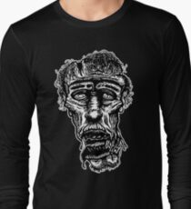 Slack-Jaw Zombie Long Sleeve T-Shirt