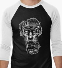 Slack-Jaw Zombie Men's Baseball ¾ T-Shirt