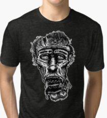 Slack-Jaw Zombie Tri-blend T-Shirt