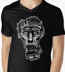 Slack-Jaw Zombie Men's V-Neck T-Shirt