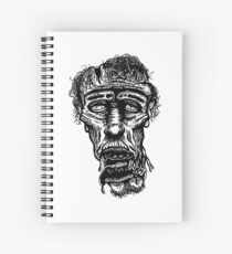 Slack-Jaw Zombie Spiral Notebook