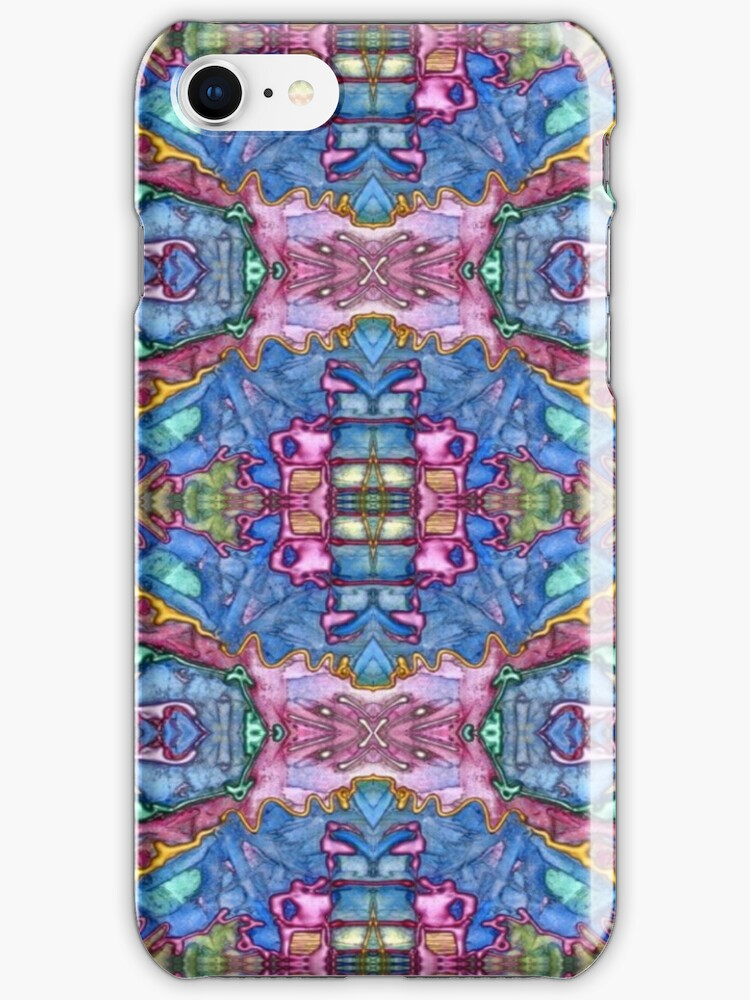 iphone case - abstract 008 by MelDavies