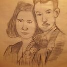 THIS IS MY SKETCH WORK OF MY GRAND PARENTS THAT I AM DOING IN ART SCHOOL by TSykes