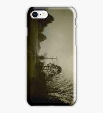 Wintery Streetscape  iPhone Case/Skin