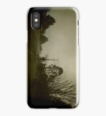 Wintery Streetscape  iPhone Case/Skin