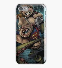 Sloth and Chunk vs. The Giant Squid iPhone Case/Skin