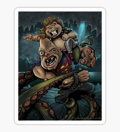 Sloth and Chunk vs. The Giant Squid Sticker
