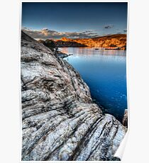 Cliffs Edge Poster