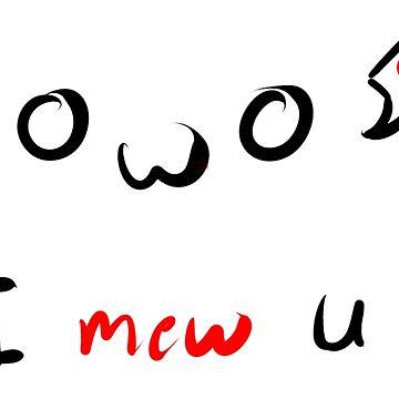 I mew U by CreativeClaws