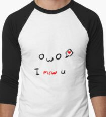 I mew U Men's Baseball ¾ T-Shirt
