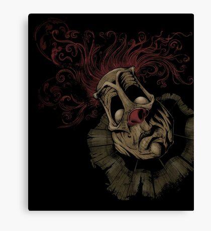 Dark Clown Canvas Print