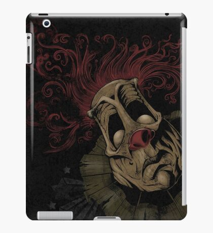 Dark Clown iPad Case/Skin
