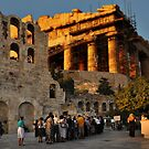 Athens Opera by Peter Hammer