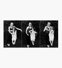 when doves dance Photographic Print