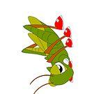 Grasshopper iPhone case by Michelle *