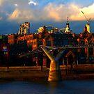 The Millenium Bridge at Sunset by Chris1249