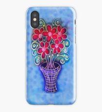 iphone case - flowers in pot iPhone Case/Skin