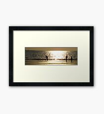 Childs Play Panorama 4 Framed Print
