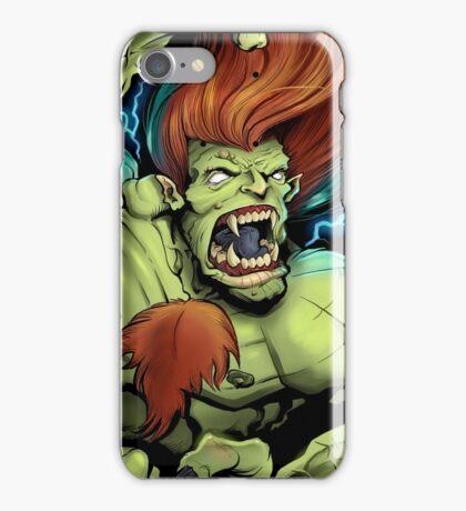 Blanka Street Fighter Skate Deck iPhone Case/Skin