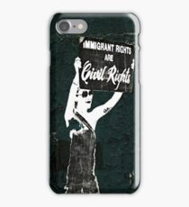 Fight for your rights iPhone Case/Skin