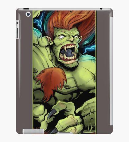 Blanka Street Fighter Skate Deck iPad Case/Skin