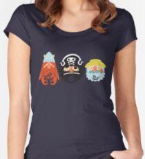 All Abeard! Women's Fitted Scoop T-Shirt