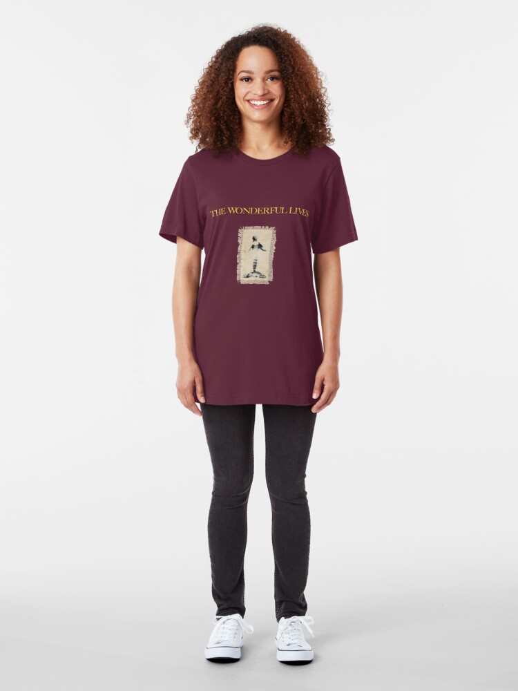 Alternate view of Lady in the Mist Slim Fit T-Shirt