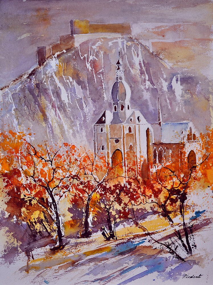watercolor dinant 1190 by calimero