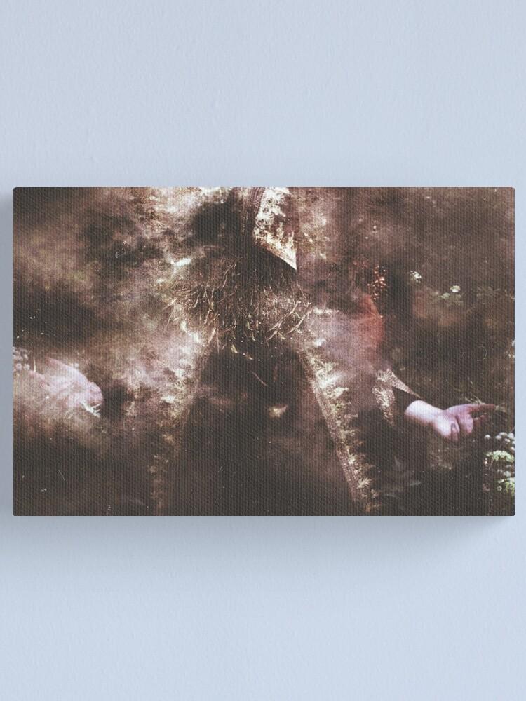 Alternate view of L'Enchanteur Sans Visage Canvas Print