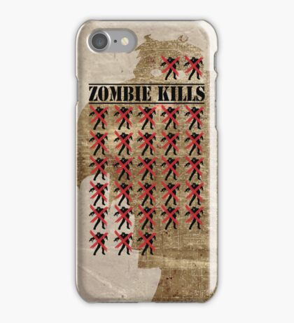 Zombie Kills iPhone Case/Skin