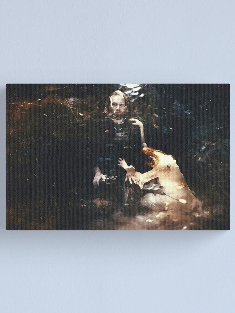 Alternate view of JUPITER ET THÉTIS Canvas Print