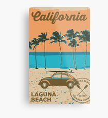 Laguna Beach - California. Metal Print