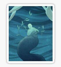 Seal Mermaid Sticker