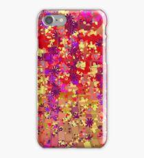 Bright Flower Burst Exploding Collage iPhone case iPhone Case/Skin