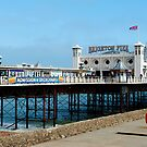 brighton pier by Bronwen Hyde