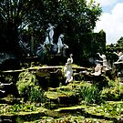 york house garden statues by Bronwen Hyde