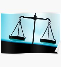 Weighing scales Poster