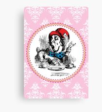 Alice in Wonderland   The Mad Hatter Canvas Print